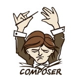 Logo of the Composer project, which uses some Symfony components