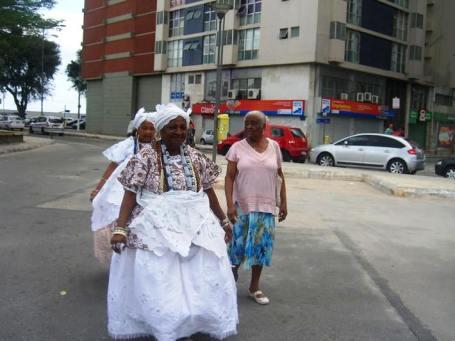 Bahian ladies in their traditional dress