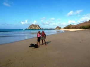 Brazil has arguably many of the best beaches in the world. The Beach Bible gives only five of them 5-stars and three of those are on Fernando do Noronha. This is one of them