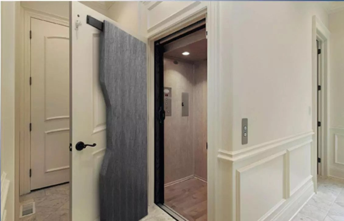 Symmetry Elevator Door Baffles