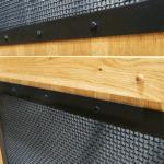 Mine Shaft Home Elevator Car Hardwood Handrail