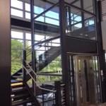 Symmetry Custom Glass LU/LA installed by Elevator Service Co