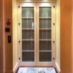 Symmetry Residential Elevator Custom Doors Shown Closed