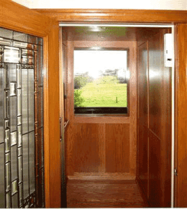 Symmetry Residential Elevator with single window