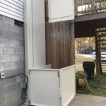 Symmetry VPL-UL outdoor lift to porch