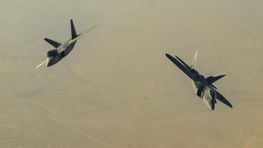 طائرات أميركية تستهدف مواقع ميليشيات إيرانية شرقي سوريا