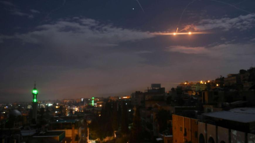 غارات جوية إسرائيلية تستهدف جنوب العاصمة دمشق