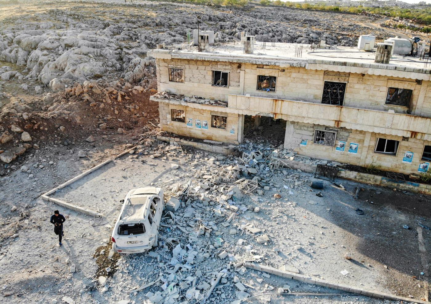 الغالبية في مناطق المعارضة السورية تأثرت بالهجمات على المنشآت الطبية