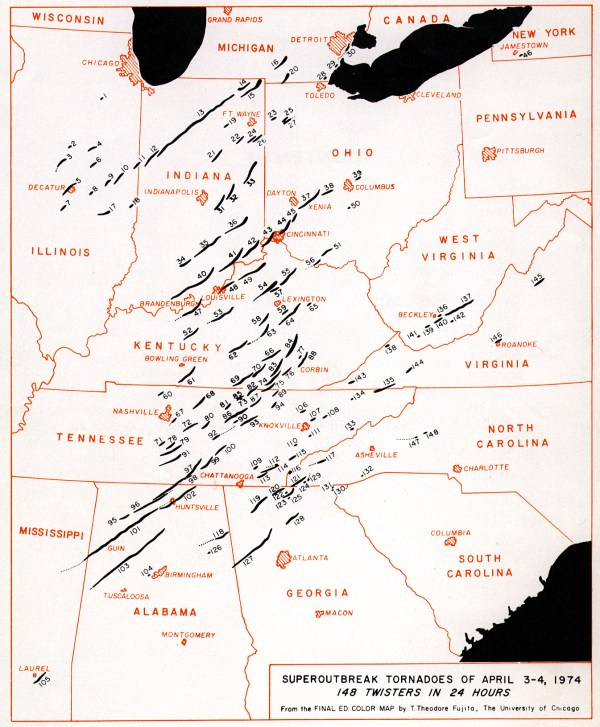 Tornado Super Outbreak of 1974-Terror From the Sky | Symon Sez