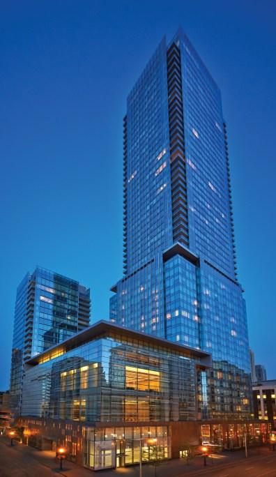 Four Seasons Hotel exterior at Toronto