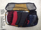 Clothes and toiletries - Packing Cube 1