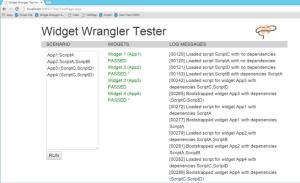 Widget Wranglar Tester
