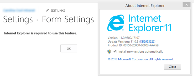 Internet Explorer is required to use this feature.