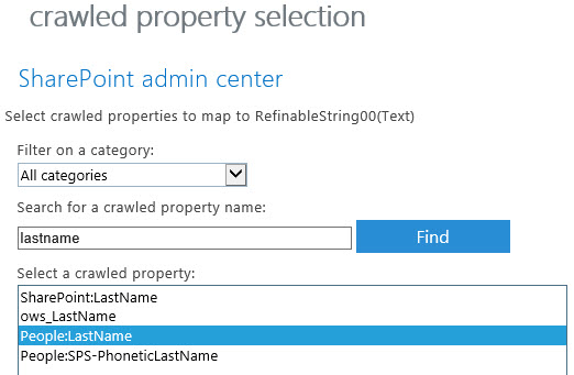 Create A Simple SharePoint 2013 Employee Directory On Office365 U2013 Part 4 U2013  Search Schema