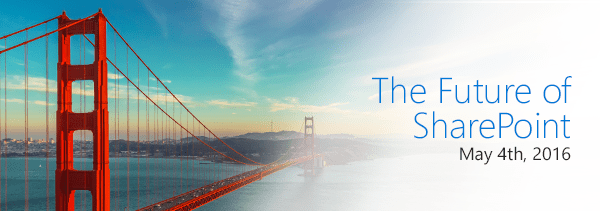 The Future of SharePoint - May 4