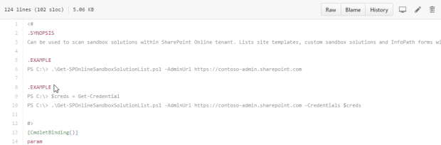 Generate list of sandbox solutions from SharePoint Online tenant