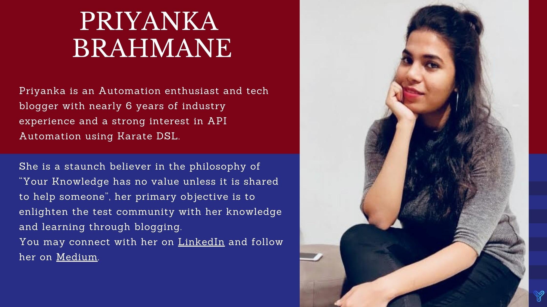 Priyanka Bio