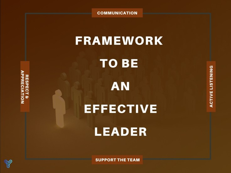 framework to be a leader