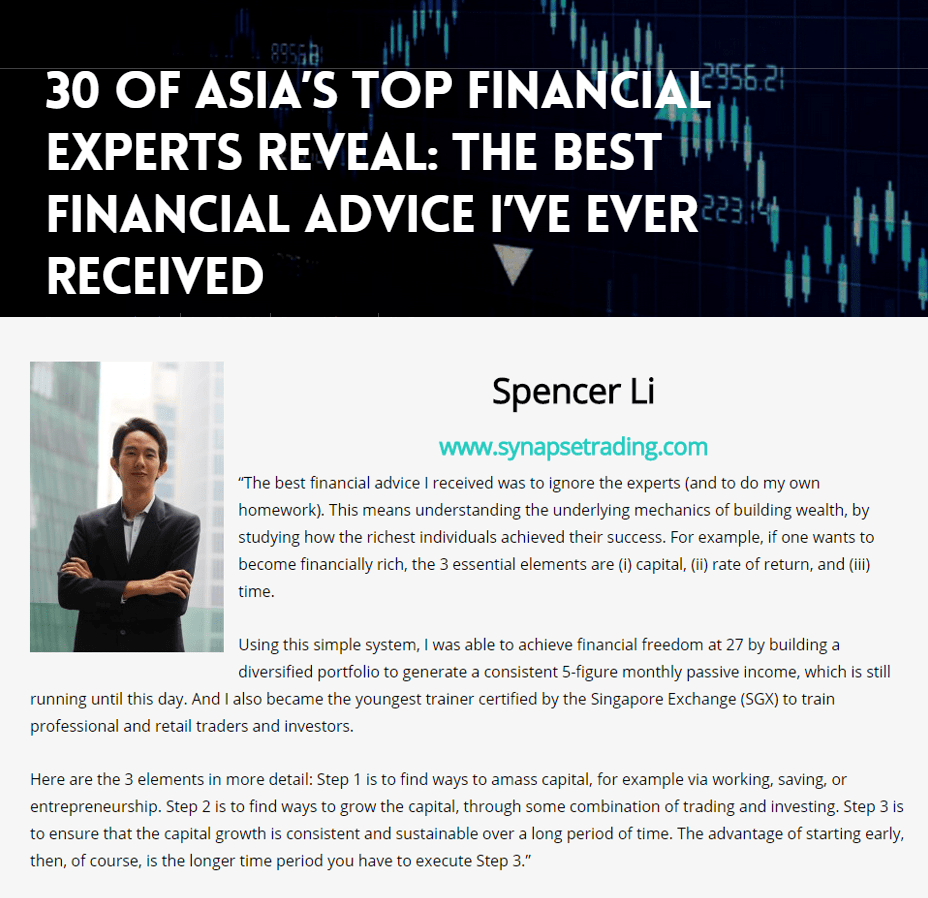 30 asia top financial experts