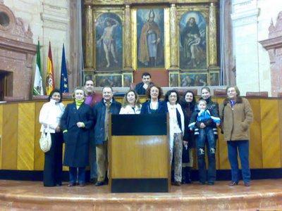 Auxiliares de Enfermería en el Parlamento andaluz