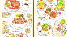 モレスキン絵日記:箱根旅行編 その2 グルメ