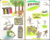 モレスキン絵日記:箱根旅行編 その3 彫刻の森美術館