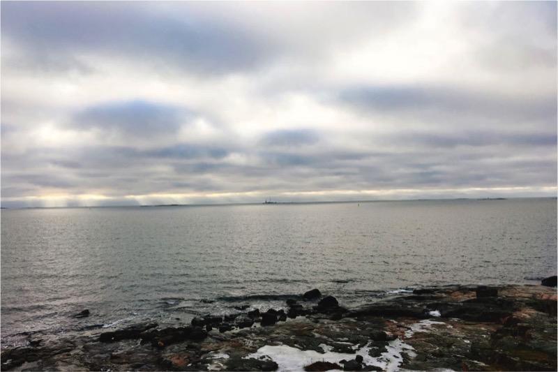 スオメンリンナからの海