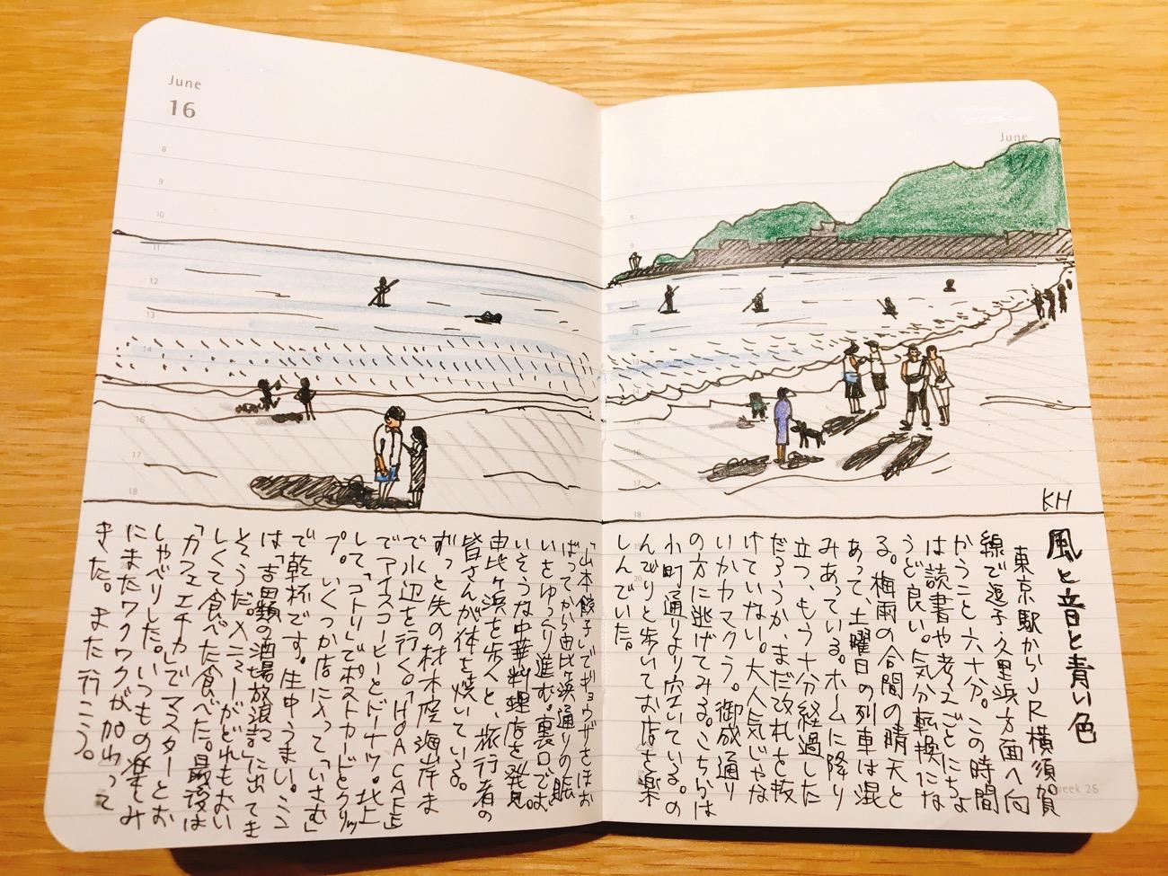 デイリーダイアリー:海の話