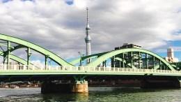 厩橋と東京スカイツリー