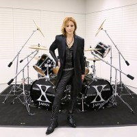 YOSHIKI's Signature TAMA Drum Set Auctioned for JPY6.04 Million as a 5-Year Commemoration of Biggest Natural Disaster in Japan's History