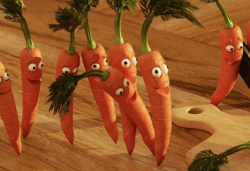 Food and Body Parts – Carrots