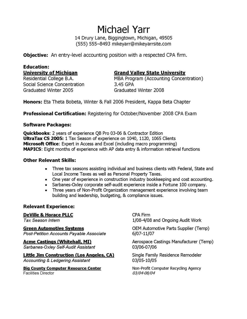 Resume For Registered Nurse With No Experience