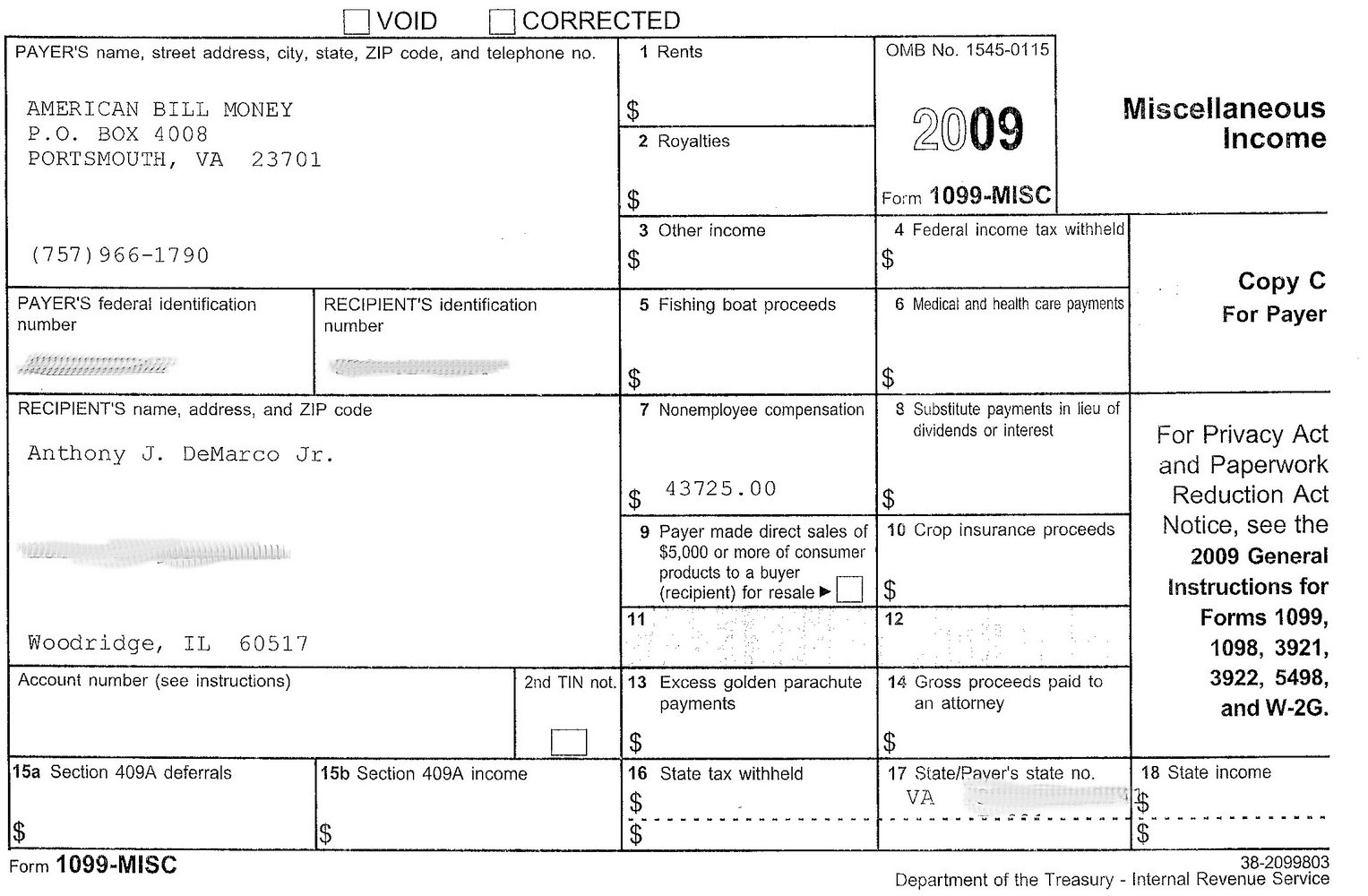 Irs Forms W 2