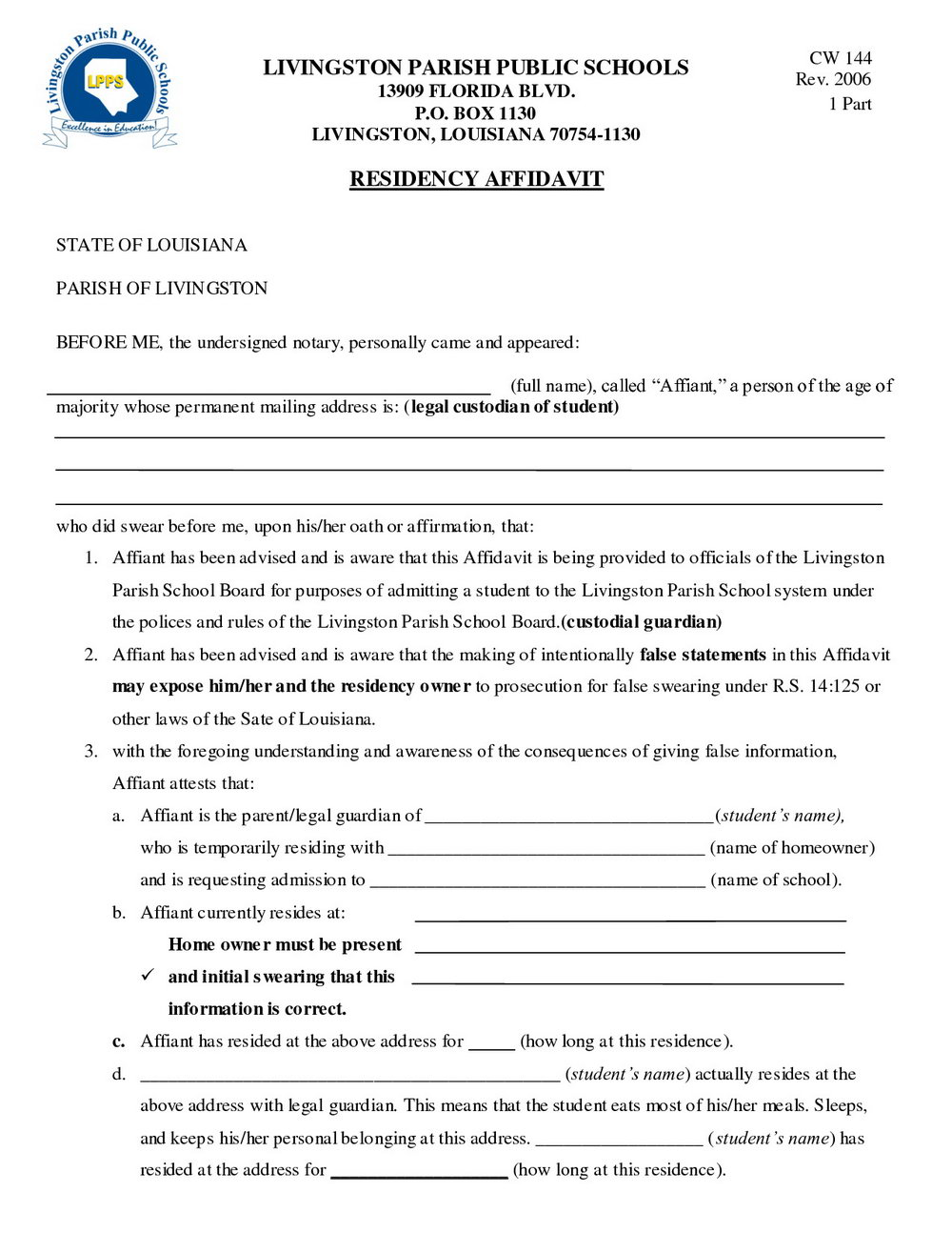 Legal Guardianship Forms Nyc