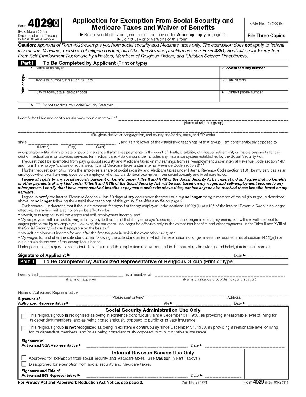 Ssi Disability Forms