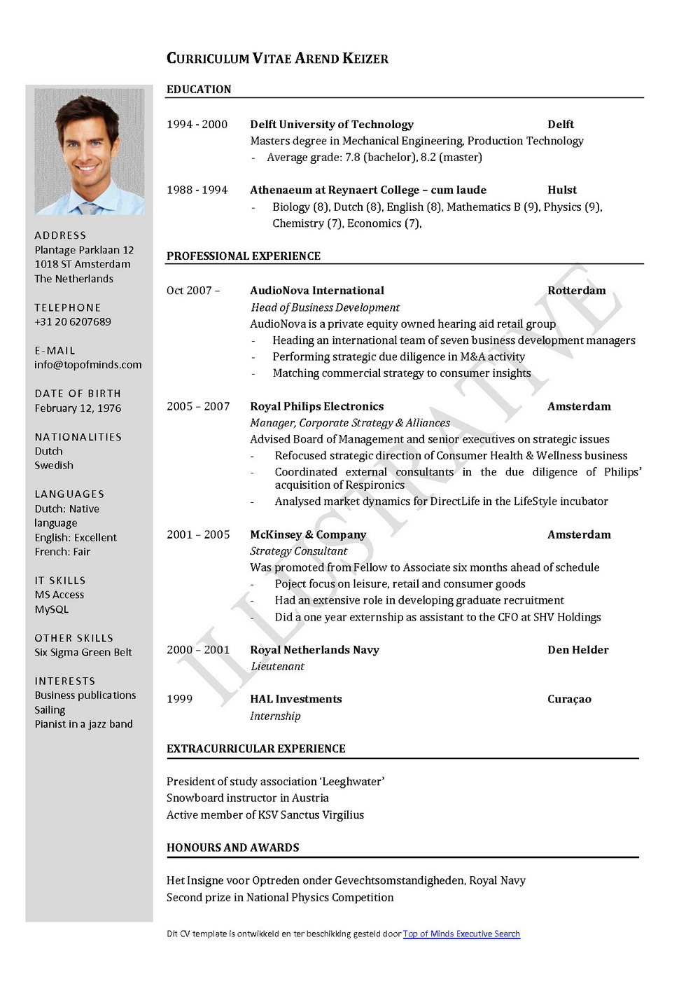 Downloadable Free Resume Templates With Photo