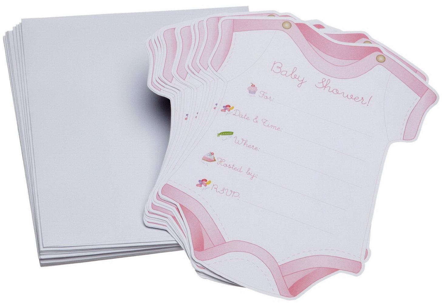 Baby Shower Diaper Invitation Template
