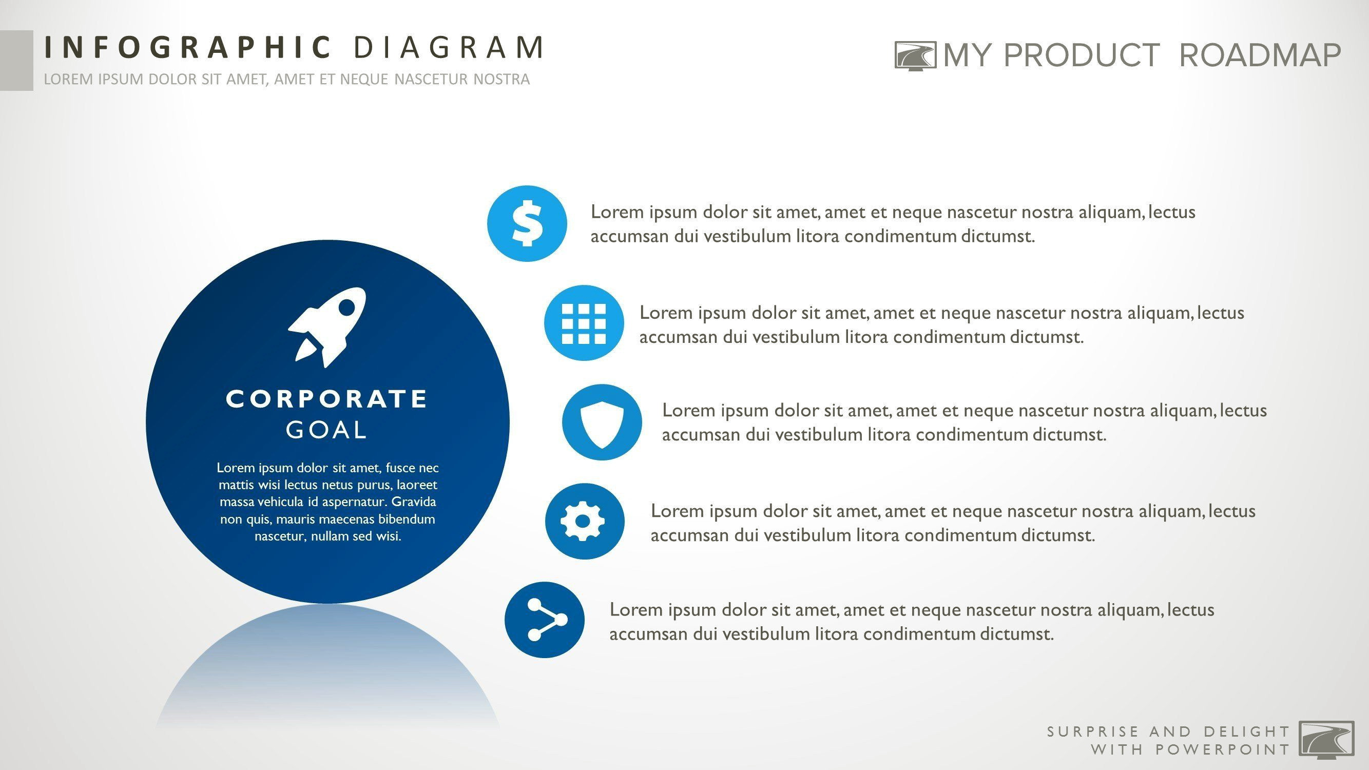 Powerpoint Smartart List Templates