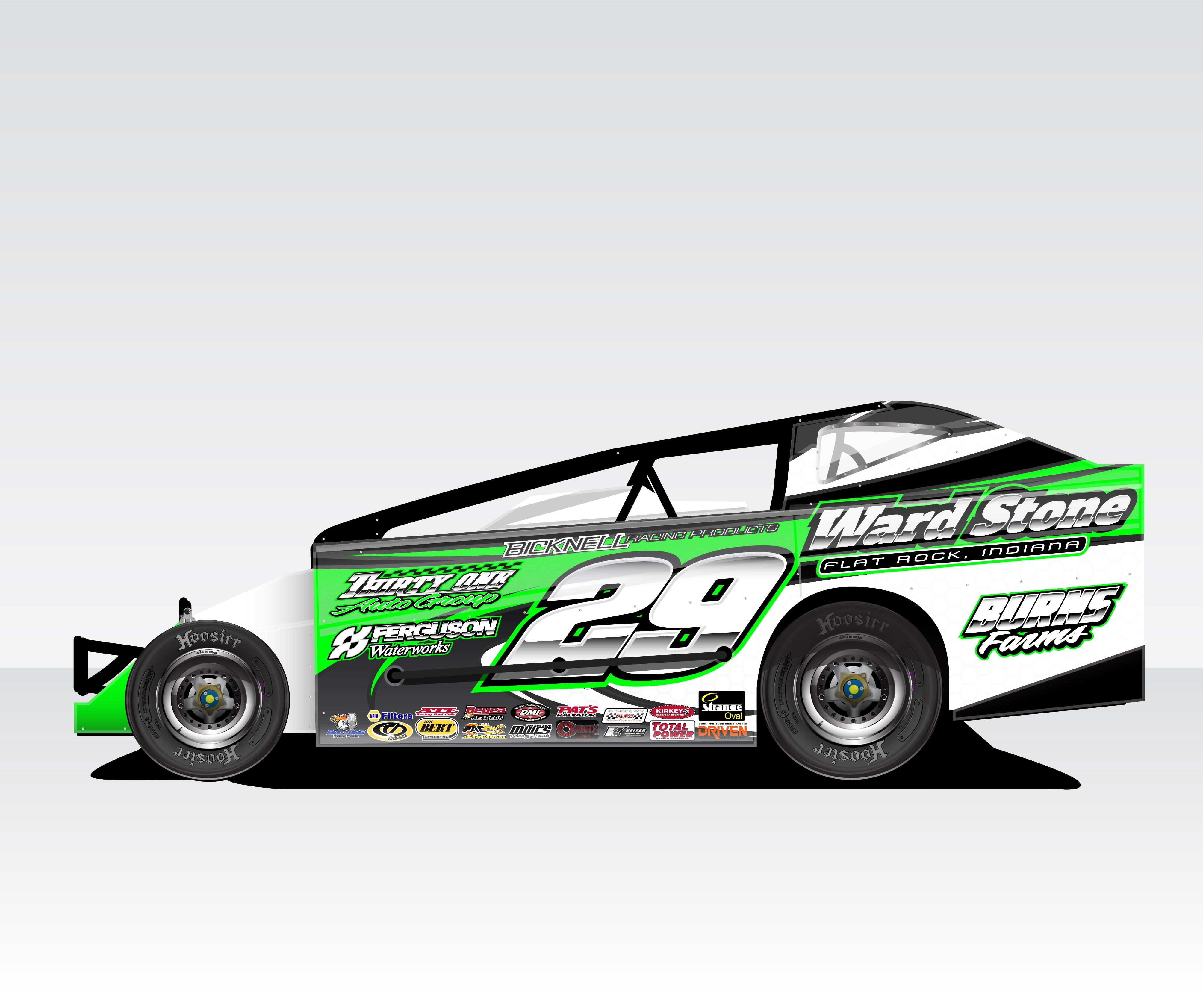 Race Car Wrap Templates