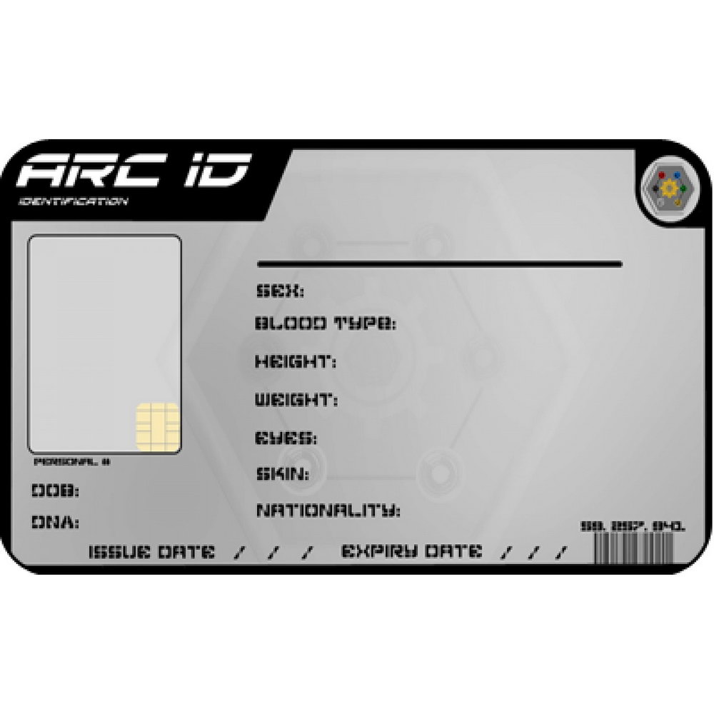 Security Id Badge Template