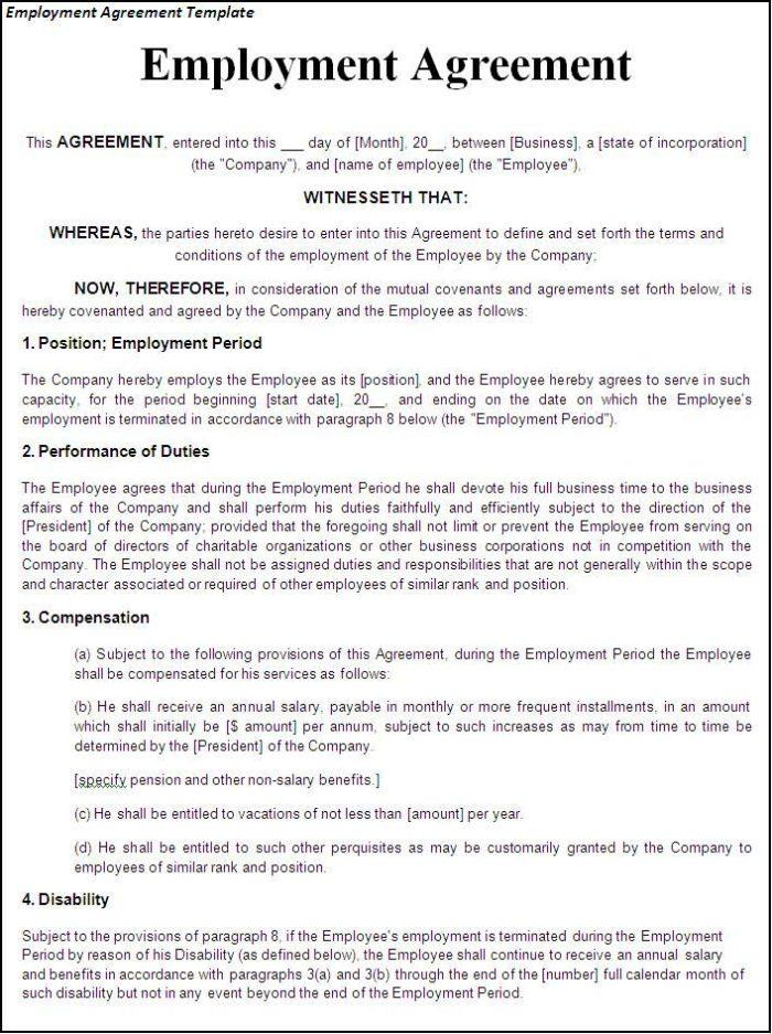 Construction Employment Contract Sample Philippines
