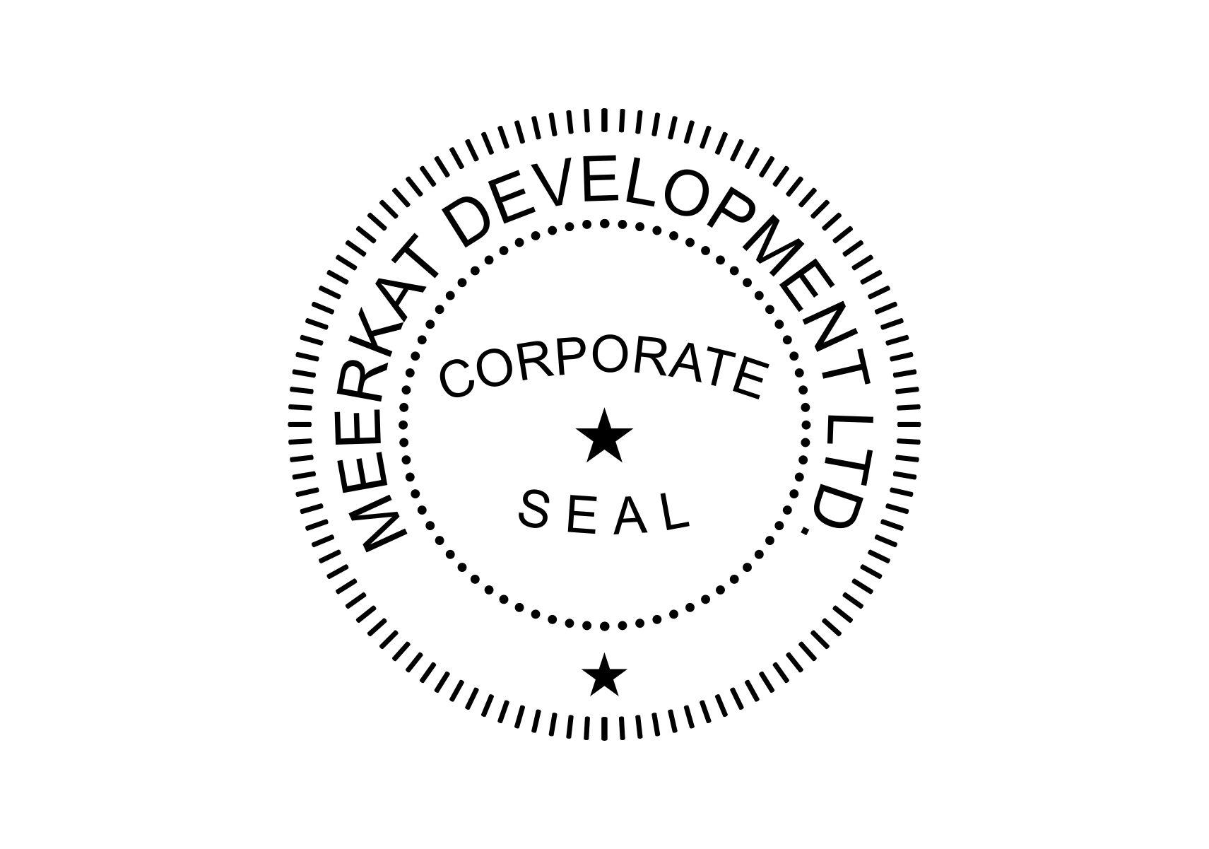 Notary Seal Template