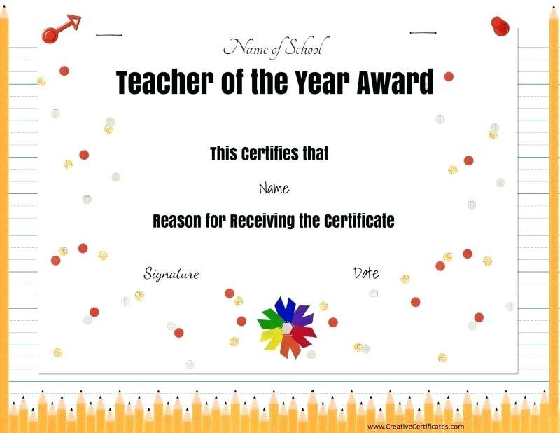 All Star Award Certificate Template