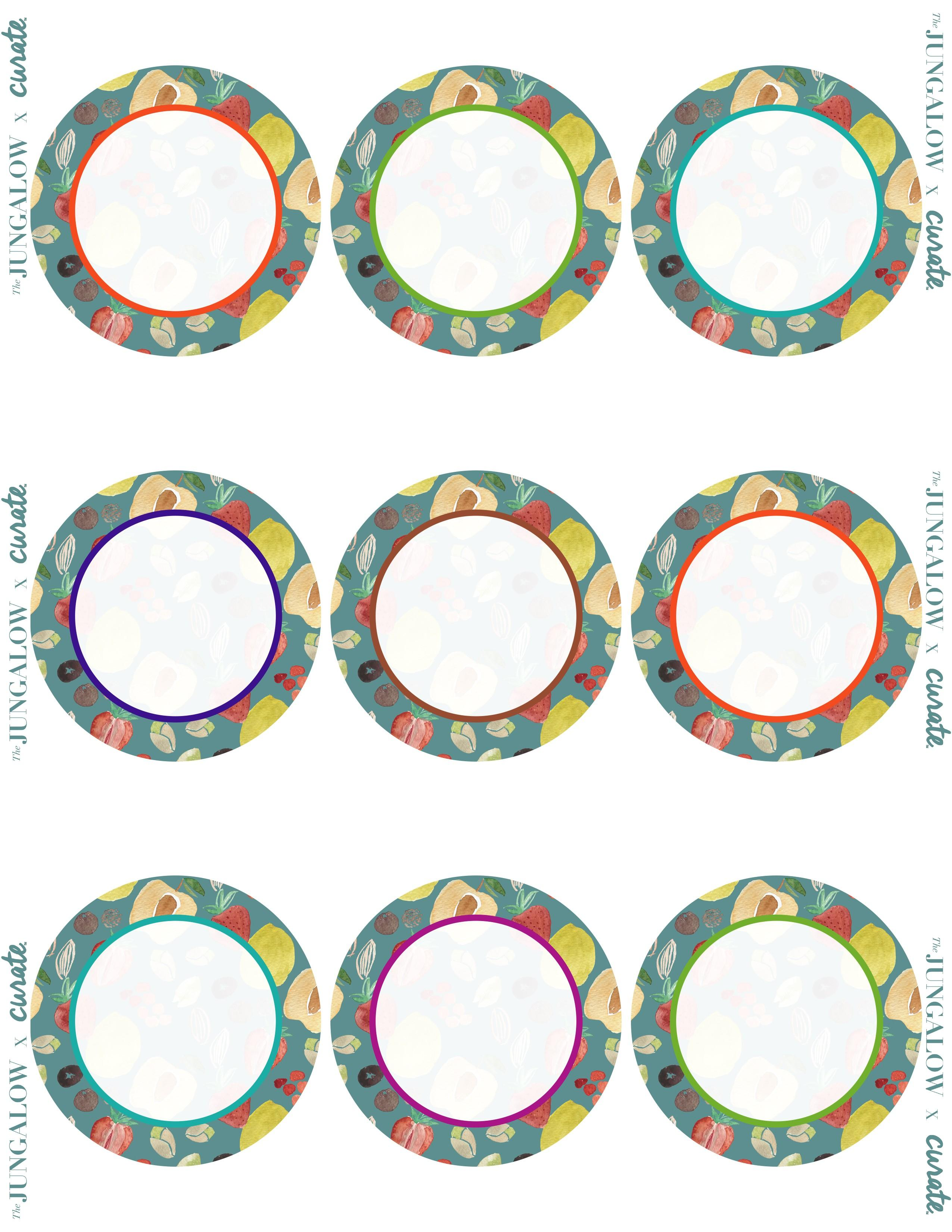 Avery Round Labels 22808 Template