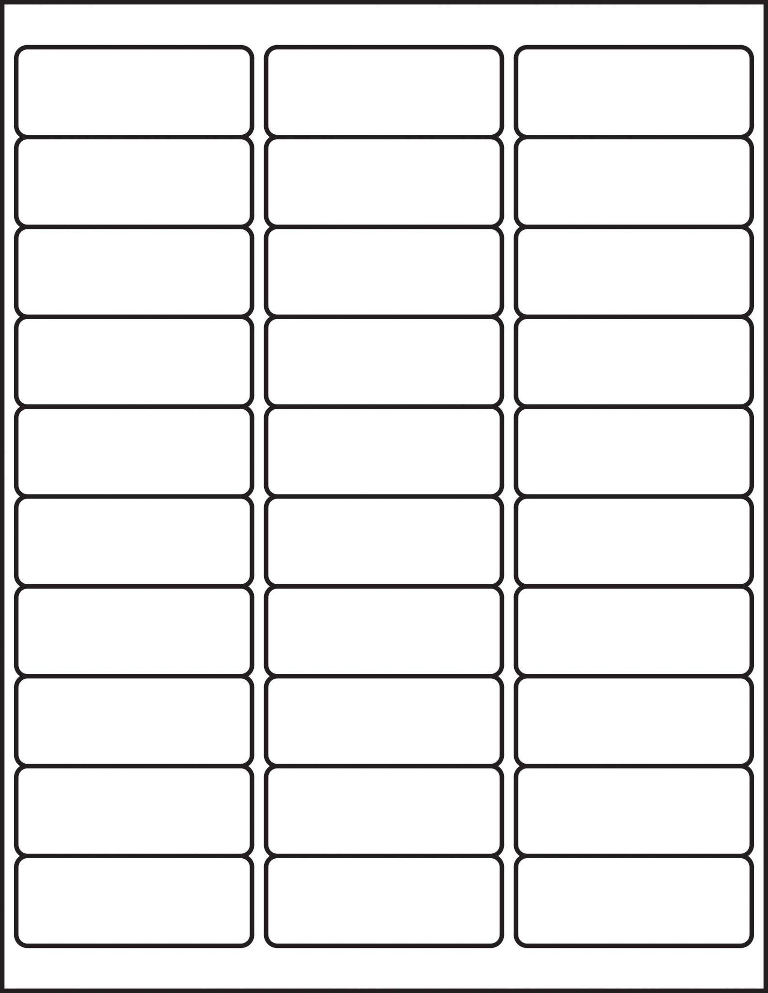 Avery Template For Labels 5160