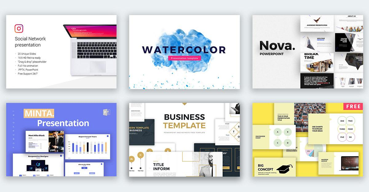 Best Business Powerpoint Templates Free