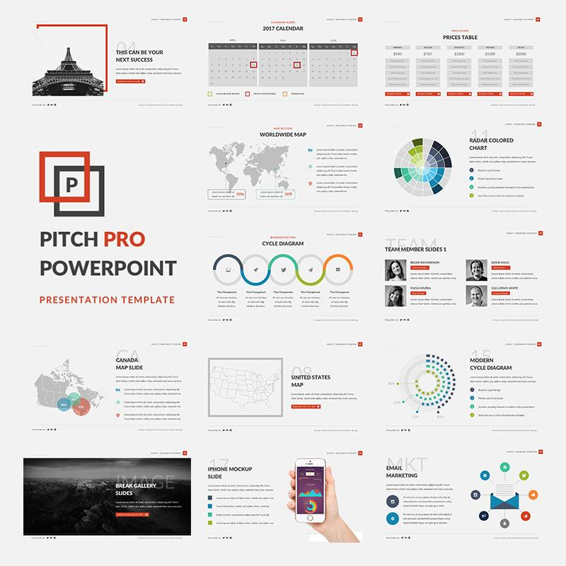 Business Pitch Powerpoint Template Free