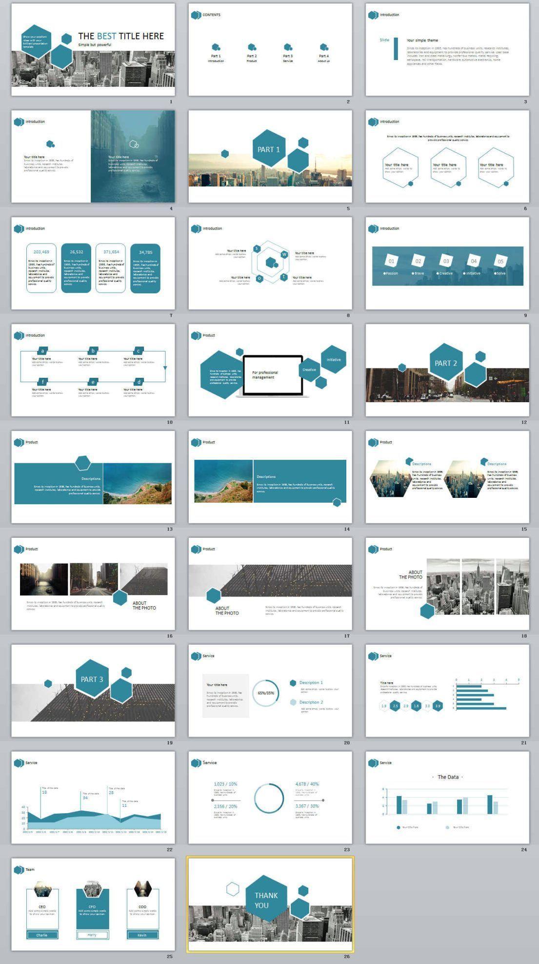 Business Presentation Templates Ppt