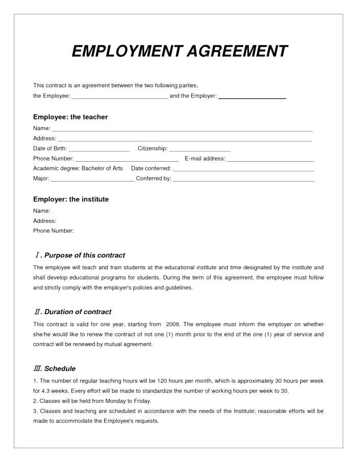 Ceo Performance Agreement Template