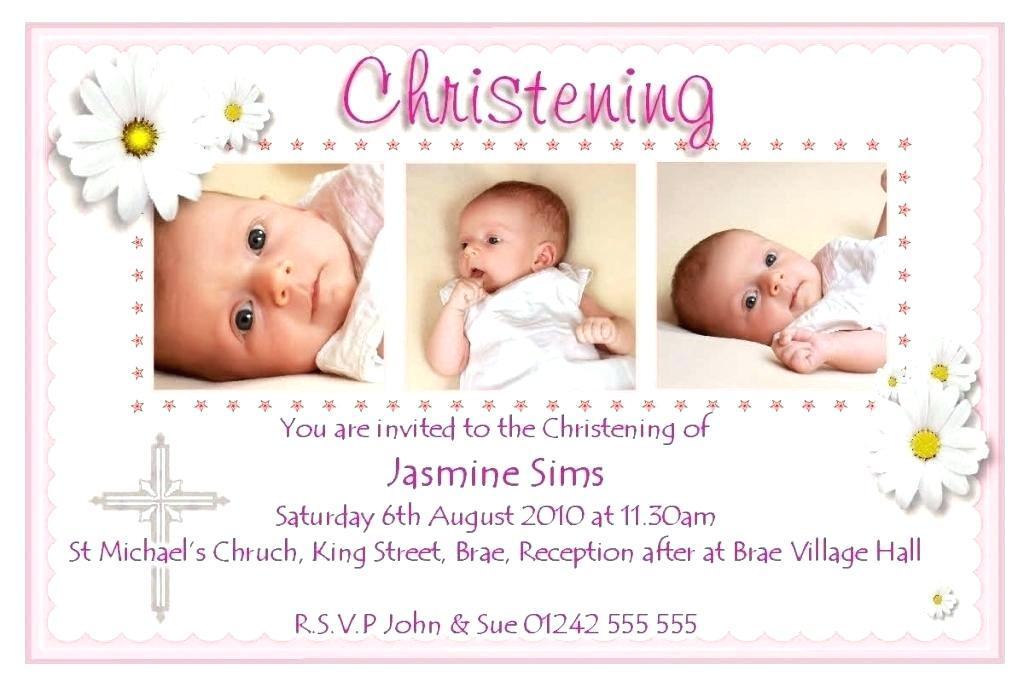 Christening Invitation Templates Free Download